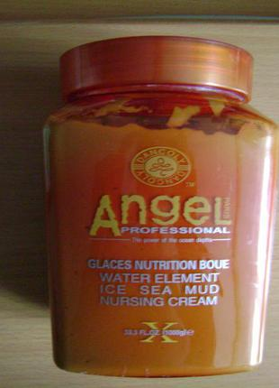 Маска для волосся з морською гряззю angel professional