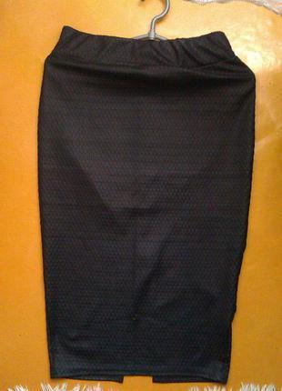 Суперская юбка-карандаш миди под змеиную кожу river island