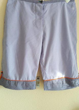 Хлопкові піжамні шортики  з карманчиками