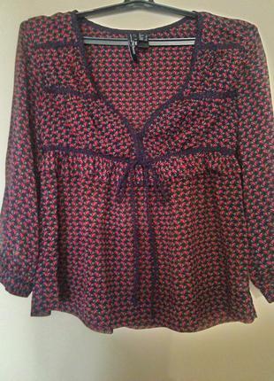 Легкая блузка манго.