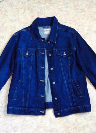 Basic jeans jacket tcm +size джинсовая куртка