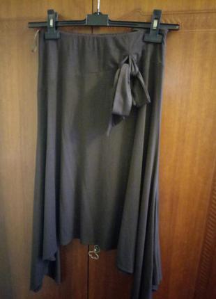 Трикотажная легкая юбка