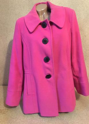 Розовое пальто warehouse