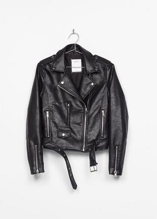 Куртка косуха biker jacket bershka