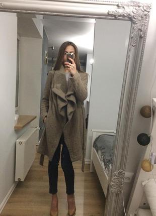 Тренд сезон пальто -халат asos з вовною