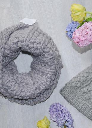 Снуд, объемный шарф