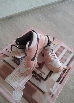 Кожаные кроссовки,кросівки  nike