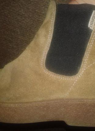 Замшевые ботиночкиesprit