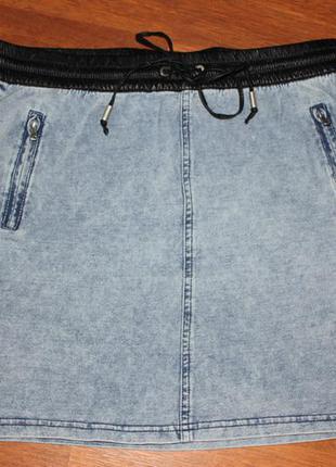Юбка джинсовая reserved