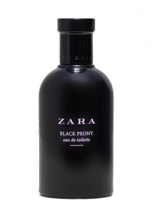 Zara black peony zara для женщин