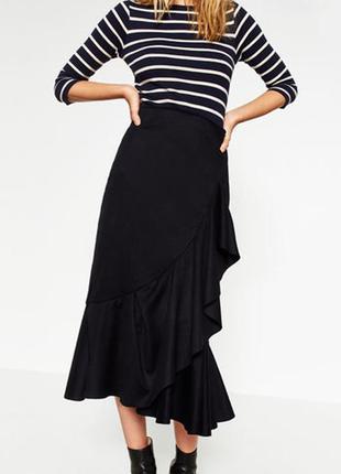 Очень крутая юбка премиум класса zara коллекции join life