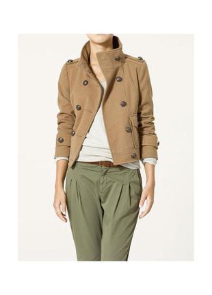 Короткий пиджак- жакет