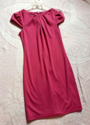 Красивое розовое платье oodji
