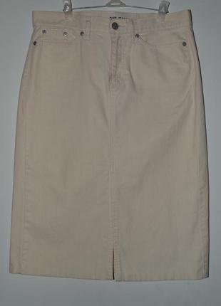 Большой выбор юбок и шорт летних и теплых джинсовая юбка с разрезом спереди 29-30размер