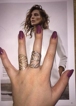 Очень красивые кольца ,комплект ,золотое ,серебряное кольцо