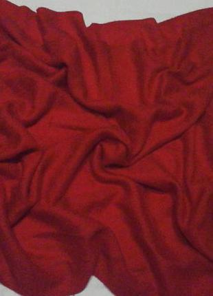 Шикарный красный платок