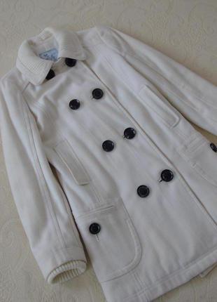 Кашемировое шерстяное пальто футляр от mango