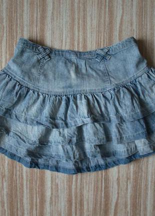 Стильная джинсовая юбка №68