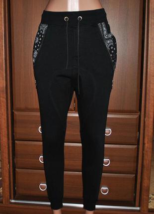 Спортивные штаны джоггеры женские хс  fsbn
