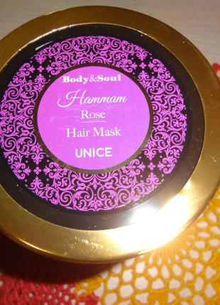 "Маска для волос ""hammam rose"", 500 мл от body&soul"
