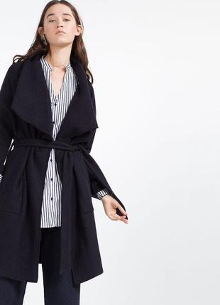 Кардиган-пальто от zara размер 34/xs/40, 36/s/42