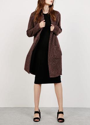 Длинное пальто на весну (весеннее) bershka