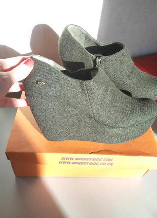 Супер новые стильные ботинки rocketdog!