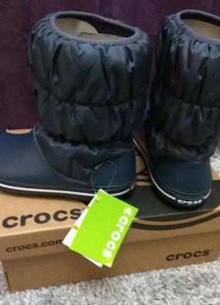 Crocs /сапоги крокси women's winter puff boot в наличии!