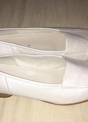 Туфли лоферы женские gabor, кожа, 43