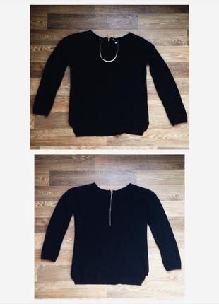 Черный свитер stradivarius