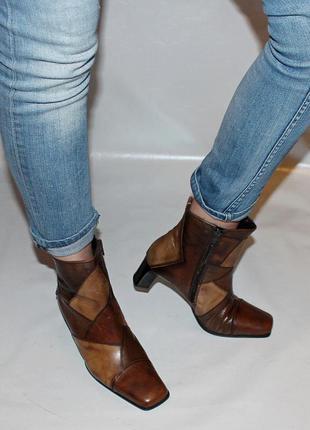 Ботинки 40 р., gabor германия, кожа, оригинал демисезон.