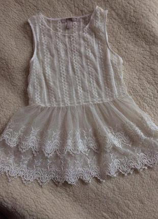 Мереживна блуза forever 21