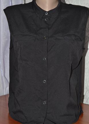 Большой выбор рубашек и блузок рубашка с накладными карманами ассиметрия