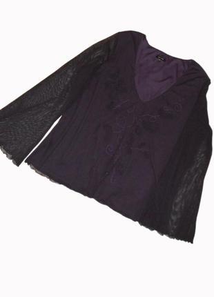 Эффектная нарядная блузка в романтическом стиле, 20uk