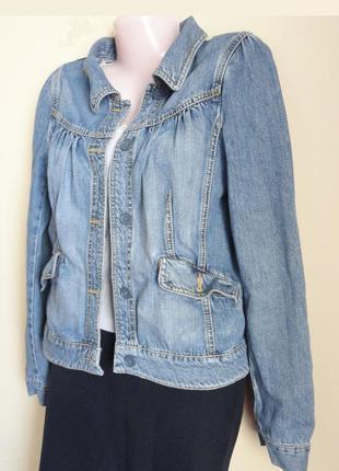 Молодёжная джинсовая куртка, пиджак denim co (m)