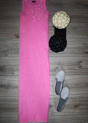 Стильное длинное платье поло с разрезами от gap