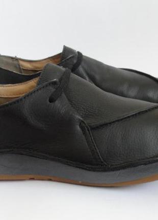 Кожаные туфли clarks 39/25 см