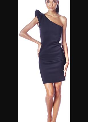 Free qwent маленькое черное платье (классика)на одно плечо