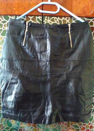 Кожанная юбка, под рестоврацию