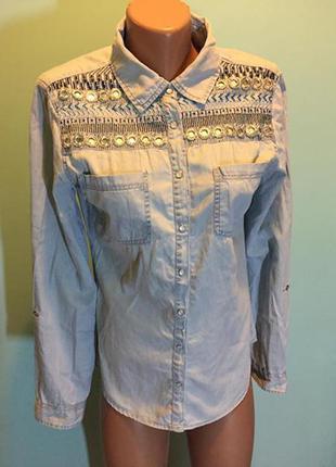 Очень крутая рубашка tallya weijl🦄