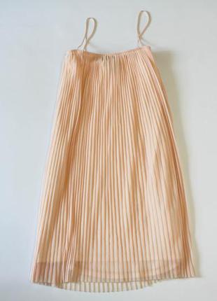 Нежное платье персикового цвета topshop