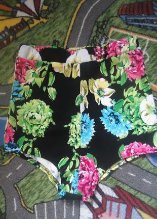 Крутые яркие короткие шорты с завышеной талией go-go pj boohoo