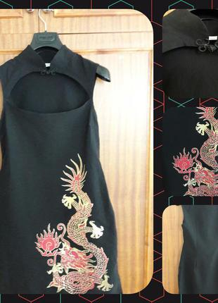 Интересное платье в восточном стиле от miss selfridge