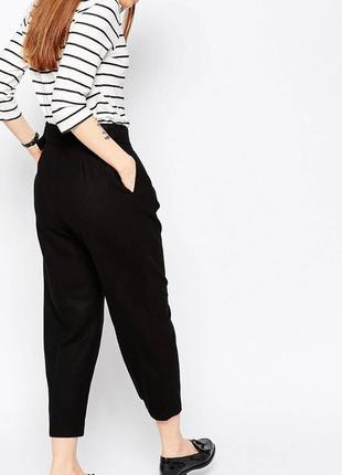Шерстяные брюки asos