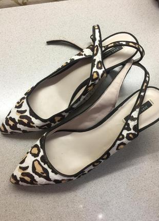 Обалденные туфли-босоножки zara woman