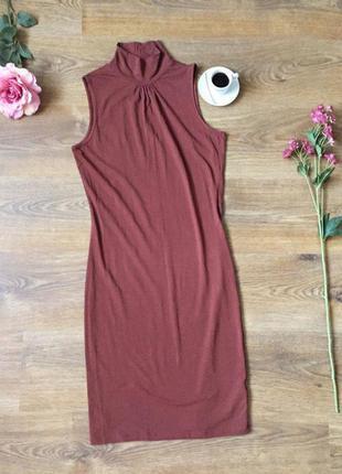Плаття безрукавка. дуже гарно виглядає на тілі) приємне на дотик) нове! розмір l)