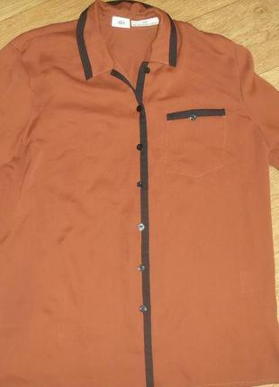 Блуза удлиненная большой размер