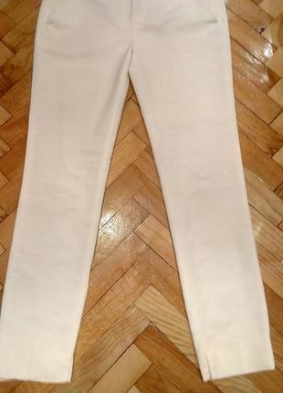 Идеальные белые брюки zara чиносы