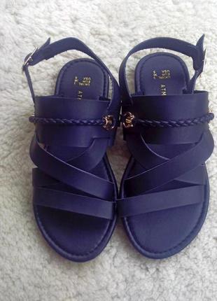 Новые кожаные сандалии босоножки atmosphera р 36 стелька 23 см