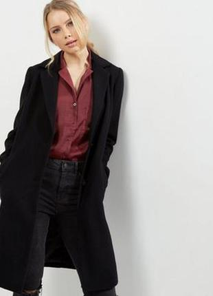 Крутое пальто бойфренд atmosphere, черное,пальтишко, крутое,кокн,оверсайз